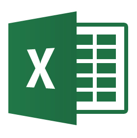 MS Excel document icon